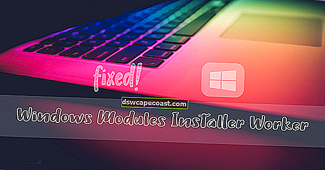 Windows Modules Installer Worker Utilizzo elevato di CPU e disco in Windows 10