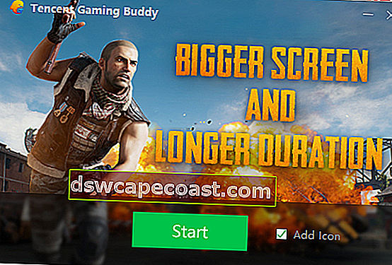 Scarica l'emulatore Tencent Gaming Buddy PUBG Mobile per PC