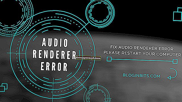 Errore del renderer audio, riavvia l'errore del computer su YouTube