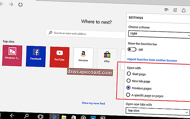 Come ripristinare, riparare o reinstallare il browser Edge in Windows 10